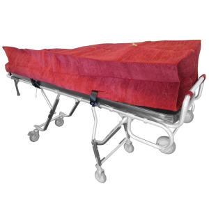 Zippered Cot Pouch - Red
