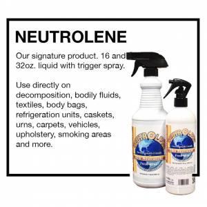 NeutrOlene spray bottles